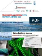 Backtracking polluters in the Northern Adriatic Sea