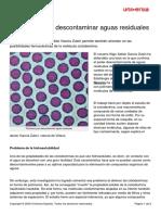Polimeros Descontaminar Aguas Residuales