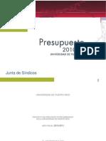 Presupuesto UPR 2010-2011