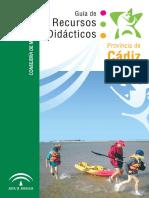 PROVINCIA de CADIZ, Guia de Recursos Didácticos