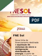 Apresentação Lançamento FNE SOL