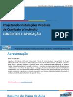 [Instalações] (Slide) Projeto Instalação Combate a Incêndio