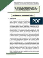 (01) Informe de Estudio Hidrologico