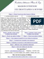 Maison d'édition de la Fondation littéraire Fleur de Lys