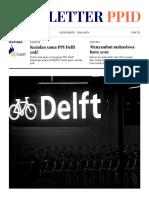 Newsletter PPI Delft Edisi November 2016