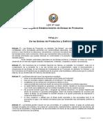 Ley No-1163 97-Que Regula El Establecimiento de Bolsas de Productos