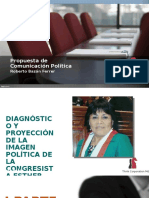 Congresista Esther Saavedra