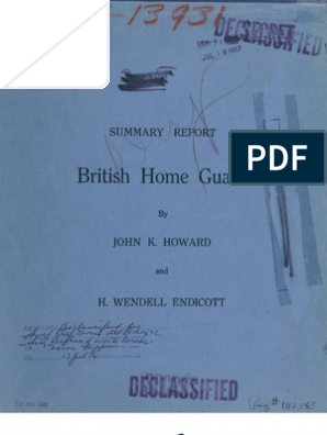 British Home Guard Guide 1941 Militia Officer Armed Forces