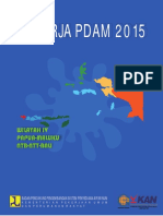 Kinerja PDAM 2015