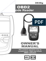 INNOVA OBD2 Scanner-Manual 3030g E