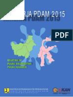 Kinerja PDAM 2015 Wilayah 3