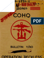 Operation Reckless (1944)