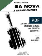 BOSSA NOVA Guitar Arrangements (arr Marshall) (chitarra).pdf