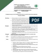 9.4.1.B-SK Tentang Pembentukan Tim Peningkatan Mutu Layanan Klinis Dan Keselamatan Pasien