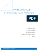 University of North Carolina, Chapel Hill - Technical and economical analysis of utility energy data