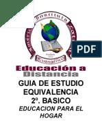 2B Equivalencia Educacion Para El Hogar
