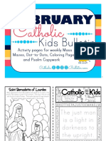 February 2017 Catholic Kids Bulletin