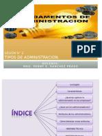 Sesion N 2 - Tipos de Administracion Habilidades