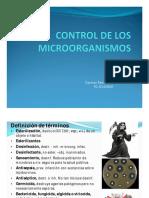 Control de Los Microorganismos