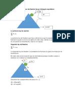 Aplicación de Las Leyes de Newton en Un Triángulo Equilátero
