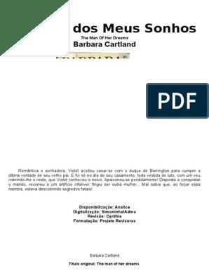 BAIXAR BARBARA ROMANCES DE CARTLAND PARA