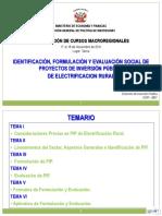 Curso de Electrificacion Rural