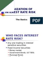 INTEREST RATE RISK, BONDS AND IMMUNIZATION-S.pptx