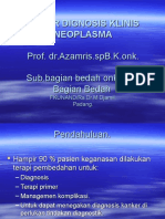 Dasar Diagnosis Kilinis Pada Neoplasma %28bahan Ajar%29