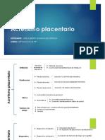 Acretismo placentario