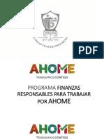 Finanzas Responsables Ahome