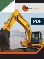 Brochure Venta de Repuestos maquinaria pesada | Tecnohitachi SAS