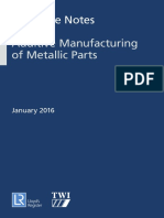 LR and TWI Guidance Notes for Additive Manufacturing Jan2016