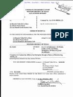Ricardo Valles de La Rosa - Removal Order and Indictment