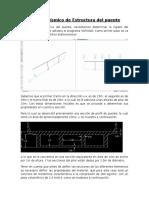 Análisis Sísmico de Estructura de Puente