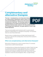 Complementary and Alternative Therapies Factsheet (1)