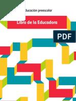 Libro Para La Educadora - Preescolar