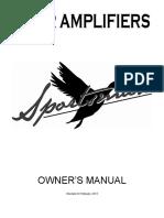 Carr Sportsman Manual