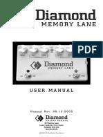 Diamond Memorylane Manual
