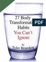 The 27 Body Transformation Habits