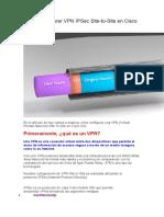 Cómo Configurar VPN IPSec Site