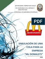 Proyecto Mc Donalds - Colas