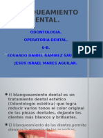 Blanqueamiento Dental.