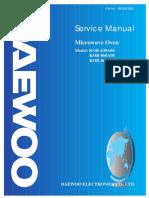Manual de Reparacion Horno de Microondas Daewoo Smkor630&860a