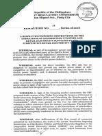 ERC Resolution No11 Seriesof2016