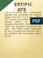 Prashansa Project