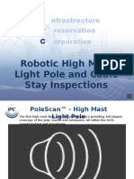 Updating 50 year old manual transportation infrastructure inspections with Robots!