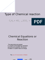 Type of Chemical Reaction (1)