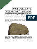 Escritura Lineal Pre-Tartésica (ElTAR) en Extremadura