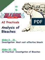 Analysis Bleaches