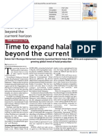 Time to Expand Halal Exports Beyond the Current Horizon (4 March 2016)